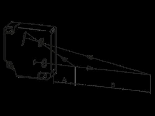 Лазер измерения длины